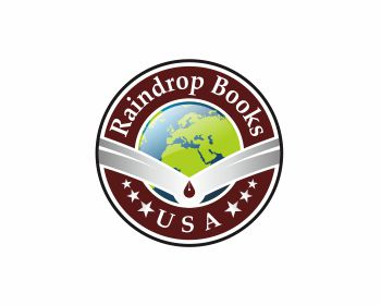 Raindrop Books USA logo design