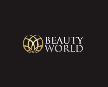 Beauty World logo design