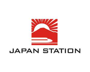 Japan Station logo design