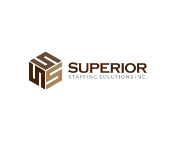 Superior Staffing Solutions Inc. logo design