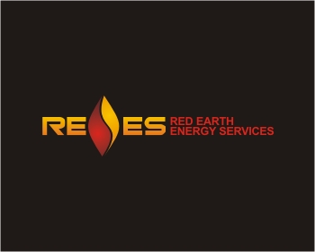RED EARTH ENERGY SERVICES logo design