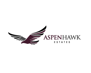 Aspen Hawk Estates logo design