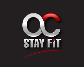 OC Stay Fit logo design