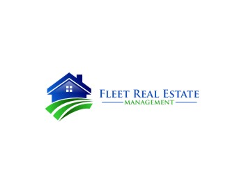 Fleet Real Estate Management logo design