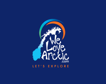 We love Arctic logo design