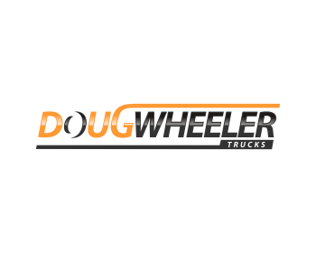 Doug Wheeler Trucks logo design