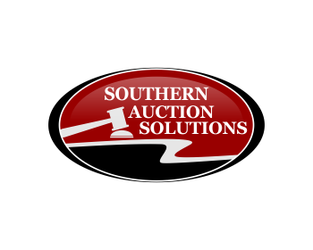 Southern Auction Solutions logo design