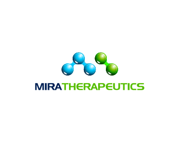 Mira Therapeutics logo design