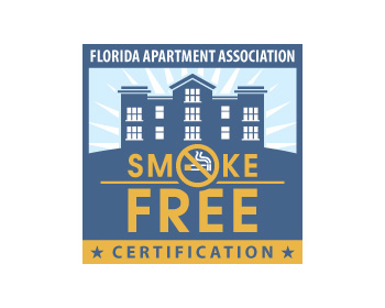 Logo Florida Apartment Association Smoke-Free Certification