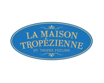 Logo design for La Maison Tropèzienne