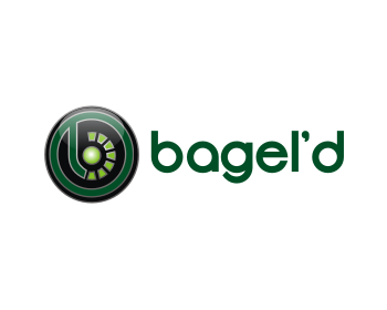Bagel'd logo design