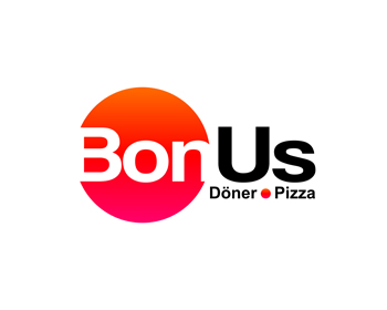Bonus Döner Pizza logo design