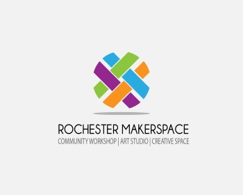 Rochester MakerSpace (www.RochesterMakerSpace.org) logo design