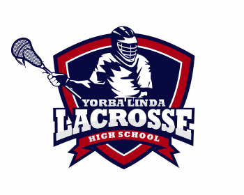 Yorba Linda High School Lacrosse logo design