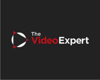 theVideo.expert logo design