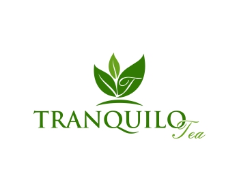 Tranquilo Tea logo design