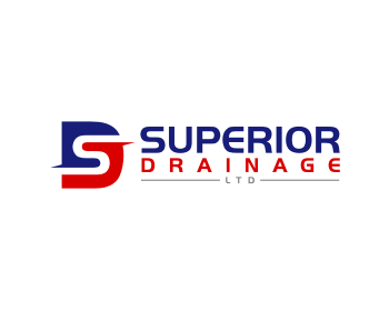 Superior Drainage Limited logo design