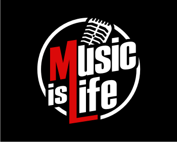 Music is Life logo design contest | Logo Arena
