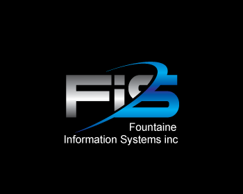 Fountaine Information Systems inc. logo design