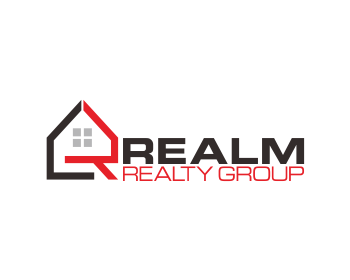 REALM REALTY GROUP logo design