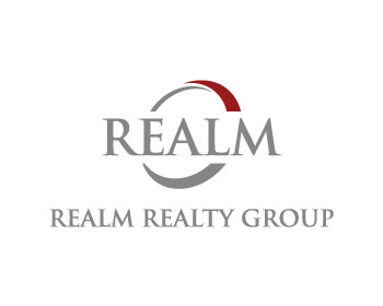 Logo design for REALM REALTY GROUP