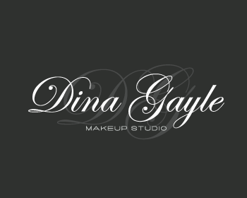 Dina Gayle Make -Up Studio logo design
