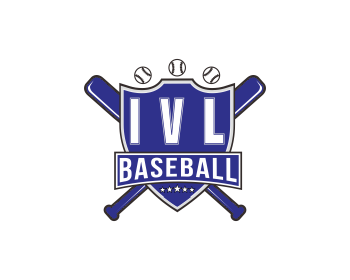 IVL Baseball logo design
