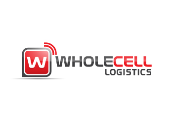 Wholecell Logistics logo design