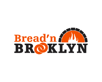 Bred'n Brooklyn logo design