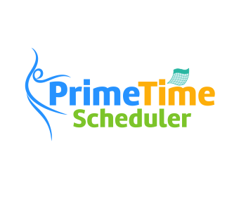 Logo design for PrimeTime Scheduler