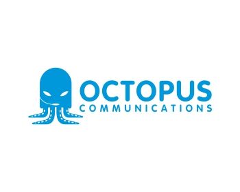Octopus Communications logo design