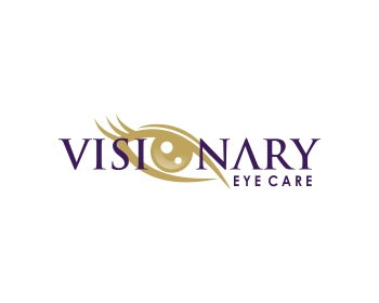 Visionary Eye Care logo design
