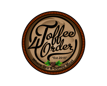 Toffee 4 Order logo design