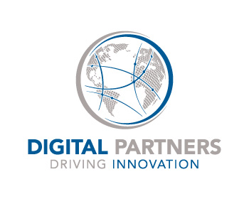 Digital Partners logo design