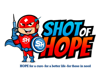 Shot of Hope logo design