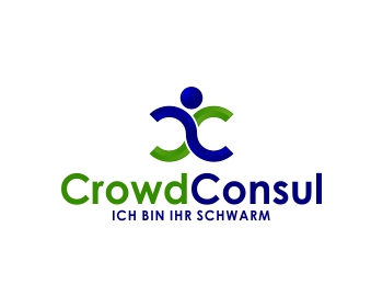 CrowdConsul logo design