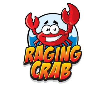 Logo design for Raging Crab