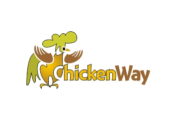 Chicken Way logo design