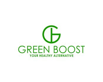 GREEN BOOST logo design