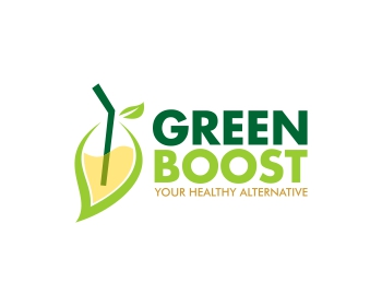Logo design for GREEN BOOST