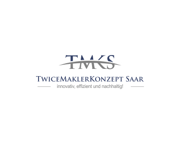 Logo design for TwiceMaklerKonzept Saar