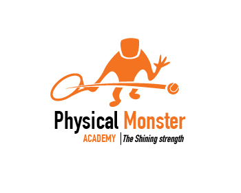 Physical Monster Academy logo design