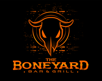 The Boneyard Bar & Grill logo design