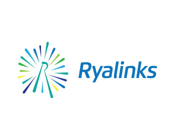Ryalinks logo design