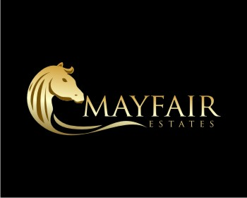 Mayfair Estates logo design