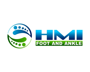 HMI Foot and Ankle logo design