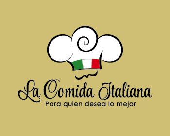 Logo design for La Comida Italiana