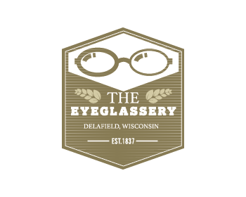 The Eyeglassery logo design