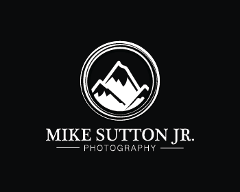 Mike Sutton Jr. Photography logo design
