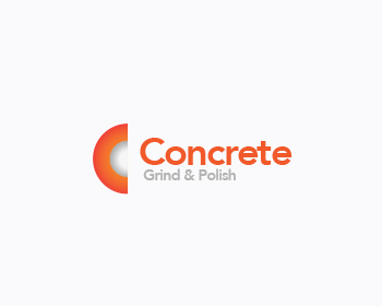 Concrete Grind & Polish logo design